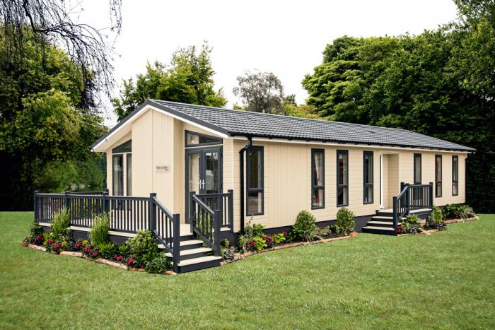 Willow Park Luxury Lodges Ikon Evesham park homes for sale