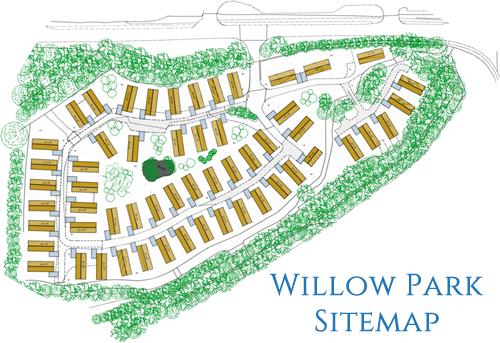 Willow Park Luxury Lodges Sitemap